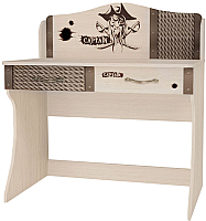 Письменный стол ABC-King Pirat / PT-1017 (ваниль) -