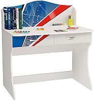 Письменный стол ABC-King Человек паук / PK-1017 (голубой) -