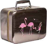 Кейс для косметики MONAMI CX7468-2 (коричневый) -