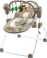 Качели для новорожденных Caretero Forest (коричневый) -