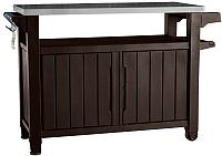 Стол садовый Keter Unity xl Storage Buffet 183l (коричневый) -