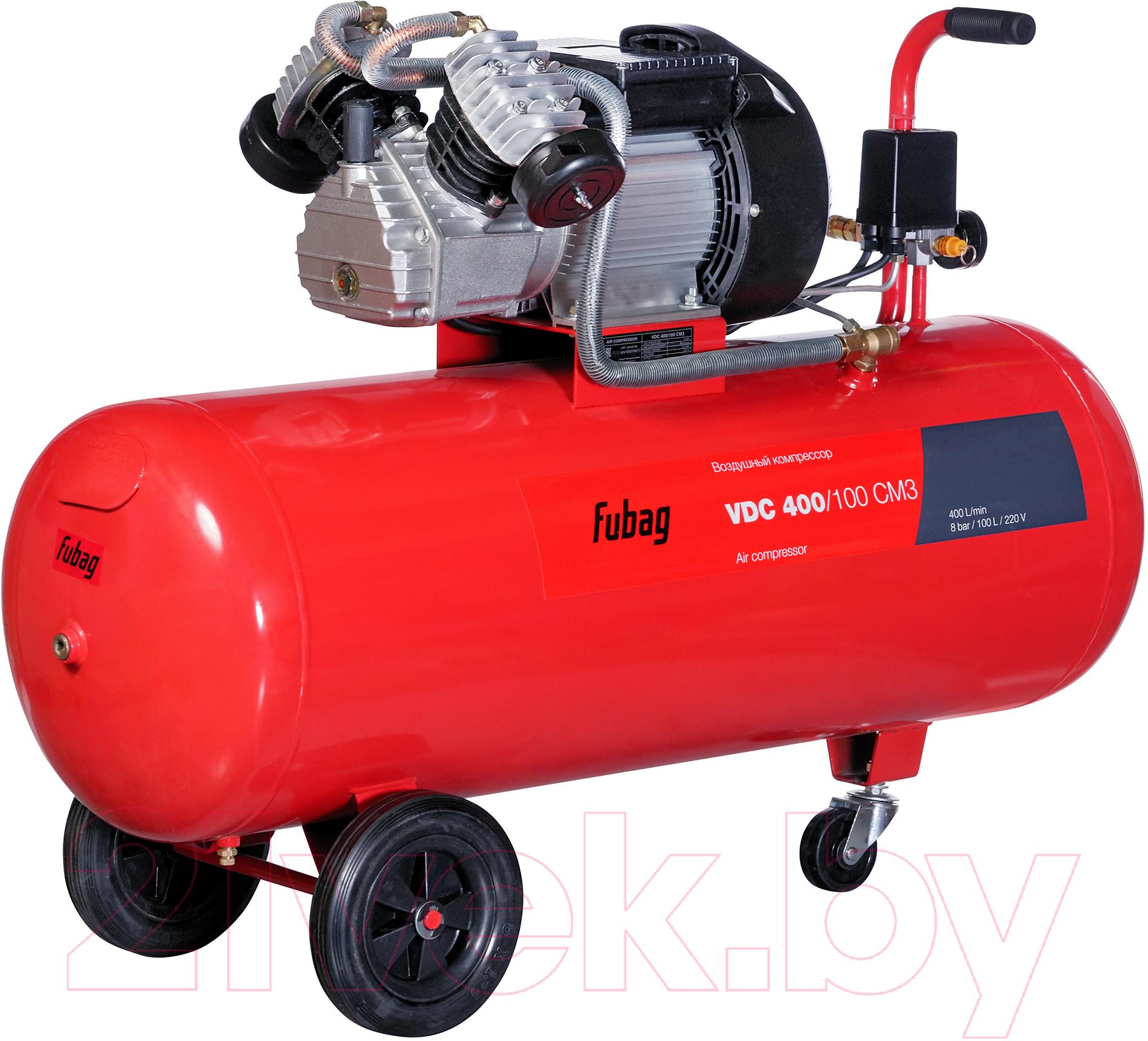 Купить Воздушный компрессор Fubag, VDC 400/100 CM3 (29838185), Китай