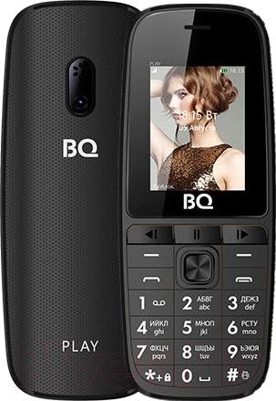 Купить Мобильный телефон BQ, Play BQ-1841 (черный), Китай