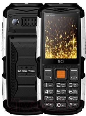 Мобильный телефон BQ Tank Power BQ-2430 (черный/серебристый)