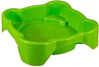 Песочница-бассейн PalPlay Квадратная 374 (салатовый) -