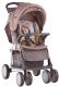Детская прогулочная коляска Lorelli Foxy Beige Yellow Family (10020521803A) -