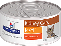 Корм для кошек Hill's Prescription Diet Kidney Care k/d (156г) -
