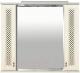 Шкаф с зеркалом для ванной Misty Вивьен 90 / П-Ввн03090-10152Ш -