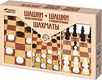 Набор настольных игр Десятое королевство Шахматы и шашки / 3873 -