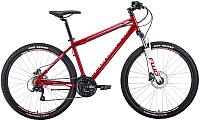Велосипед Forward Sporting 27.5 3.0 Disc 2020 / RBKW0MN7Q007 (19, темно-красный/серый) -
