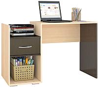 Компьютерный стол Тэкс Квартет-1 (венге/дуб молочный) -