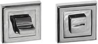 Фиксатор дверной защелки VELA WC-Quadro (хром) -