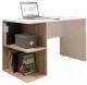 Письменный стол Domus СП018 / dms-sp018-8685-K017 (белый/вяз светлый) -