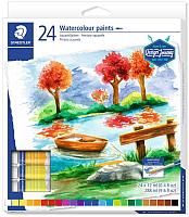 Акварельные краски Staedtler 8880 C24 -