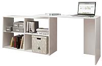 Письменный стол Domus СТР03 13.003.01.01 / dms-str03-8685 (белый) -