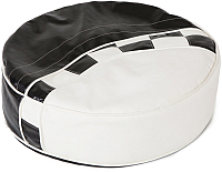 Пуфик ABC-King Formula / ADV-00-FR-190 (черный/белый) -