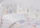 Комплект в кроватку Топотушки Фантазия 6 предметов / 601/4 (короны, бирюзовый) -