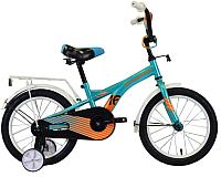 Детский велосипед Forward Crocky 16 2020 / RBKW0LNG1031 (бирюзовый/оранжевый) -