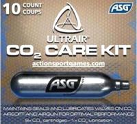 Баллончик CO2 ASG Ultrair Power 12гр (упаковка 9 стандартных, 1 сервисный) -