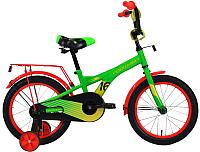 Детский велосипед Forward Crocky 16 2020 / RBKW0LNG1029 (зеленый/желтый) -