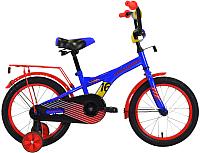Детский велосипед Forward Crocky 16 2020 / RBKW0LNG1026 (синий/красный) -