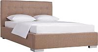 Полуторная кровать ДеньНочь Бонд K03 KR00-07eC 140x200 (MN03/MN03) -