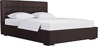 Полуторная кровать ДеньНочь Бонд K03 KR00-07e 140x200 (SF66/SF66) -