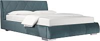 Двуспальная кровать ДеньНочь Дейтон К03 KR00-11eC 160x200 (KN26/KN26) -