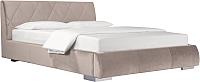 Двуспальная кровать ДеньНочь Дейтон К03 KR00-11eC 160x200 (PR02/PR02) -