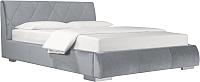 Двуспальная кровать ДеньНочь Дейтон К04 KR00-11C 180x200 (PR05/PR05) -