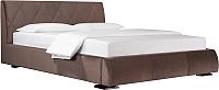 Двуспальная кровать ДеньНочь Дейтон К03 KR00-11e 160x200 (PR04/PR04) -