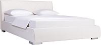 Двуспальная кровать ДеньНочь Дейтон К04 KR00-11C 180x200 (SF17/SF17) -
