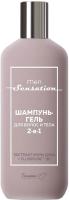 Шампунь для волос Белита-М Men Sensation для волос и тела 2 в 1 (400г) -