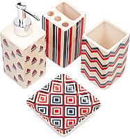 Набор аксессуаров для ванной Benedomo Younga (кораблики) -