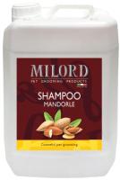 Шампунь для животных Milord Миндаль с пантенолом и маслом миндального ореха / М3484 (5л) -
