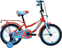 Детский велосипед Forward Funky 16 2020 / RBKW0LNG1034 (красный/голубой) -