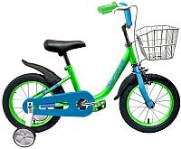 Детский велосипед Forward Barrio / RBKW0LNG1008 (16, зеленый) -