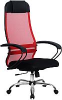 Кресло офисное Metta Комплект 11 / SU-1-BP (красный) -