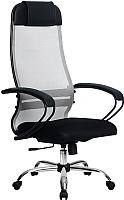 Кресло офисное Metta Комплект 11 / SU-1-BP (светло-серый) -