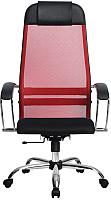 Кресло офисное Metta Комплект 18 / SU-1-BK (красный) -