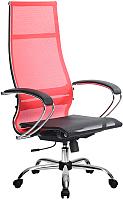 Кресло офисное Metta Комплект 7 / SK-1-BK (красный) -