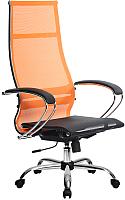 Кресло офисное Metta Комплект 7 / SU-1-BK (оранжевый) -