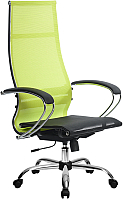Кресло офисное Metta Комплект 7 / SK-1-BK (лайм) -