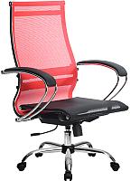 Кресло офисное Metta Комплект 9 / SK-1-BK (красный) -