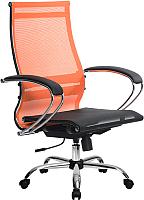 Кресло офисное Metta Комплект 9 / SK-2-BK (оранжевый) -