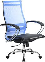 Кресло офисное Metta Комплект 9 / SK-2-BK (васильковый) -