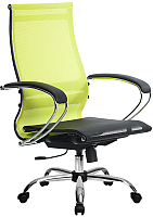 Кресло офисное Metta Комплект 9 / SK-2-BK (лайм) -