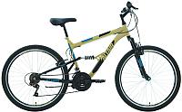 Велосипед Forward Altair MTB FS 26 1.0 2020 / RBKT0SN6P011 (18, бежевый/черный) -