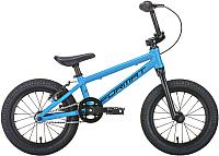 Детский велосипед Format Kids 14 2020 / RBKM0L6F1001 (голубой матовый) -