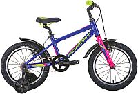 Детский велосипед Format Kids 16 2020 / RBKM0L6G1002 (фиолетовый) -